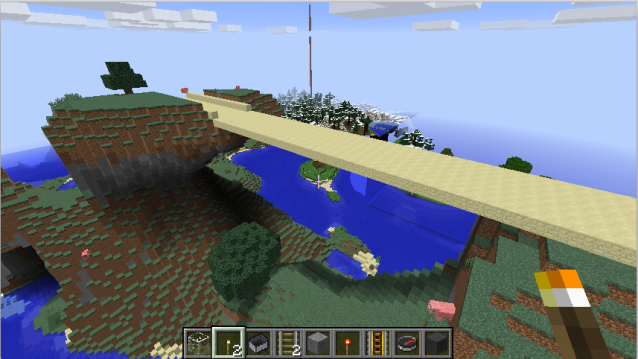 sand-bridge